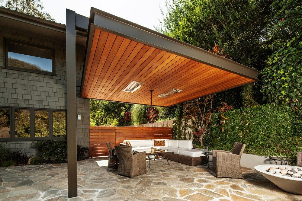 Desain Kanopi Teras untuk Rumah