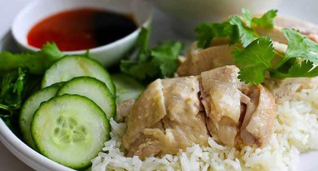 Resep Nasi Ayam Hainan Rice Cooker