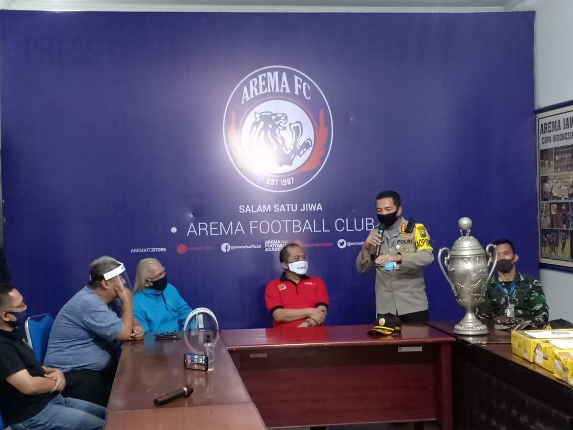 Kapolresta Malang Kota Apresiasi Kesigapan Arema FC Cegah