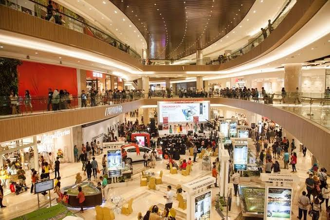 Ilustrasi pusat perbelanjaan/Mall