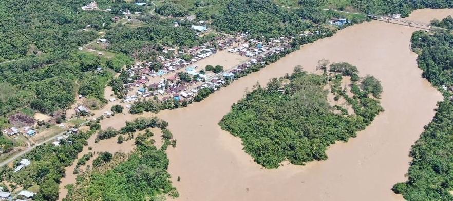 Banjir di Malinau