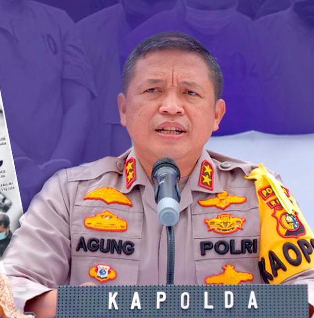 Kapolda Riau Irjen Pol Agung Setya Effendi