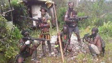 KKB Serang Polisi Oksamol