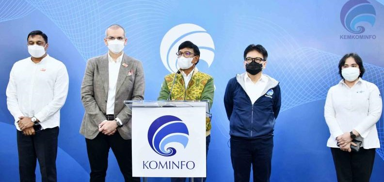 Layanan 5G Indosat Ooredoo an Komunikasi dan Informatika (Kominfo).